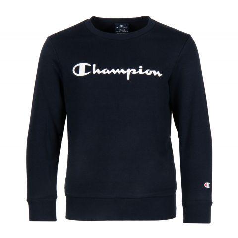 Champion-Big-Logo-Crewneck-Sweater-Junior