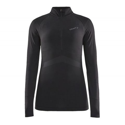Craft-Active-Intensity-Zip-Longsleeve-Thermoshirt-Dames