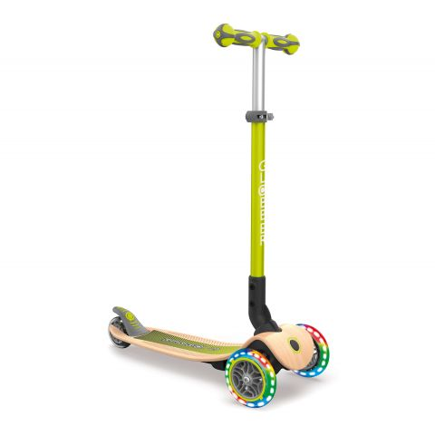 Globber-Primo-Lights-Wood-Opvouwbare-Tri-Scooter
