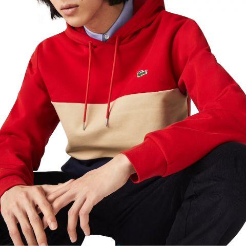 Lacoste-Colorblock-Fleece-Hoodie-Heren-2109061100