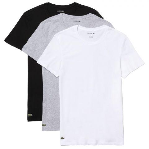 Lacoste-Essentials-Basic-Crew-Shirt-Heren-3-pack-