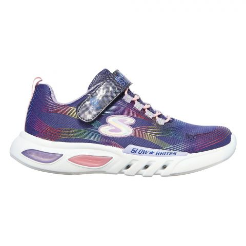 Skechers-S-Lights--Glow-Brites-Sneakers-Meisjes-2108241652