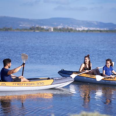 Quelle est la différence entre le canoë et le kayak?